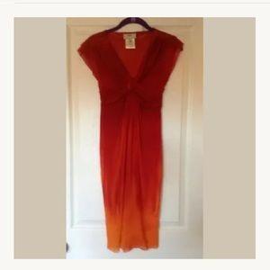 Jean Paul Gaultier FUZZI medium ombré nylon dress